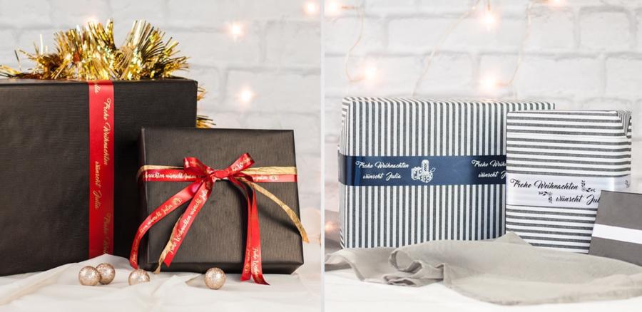 Cinta de tela personalizable para regalos 1