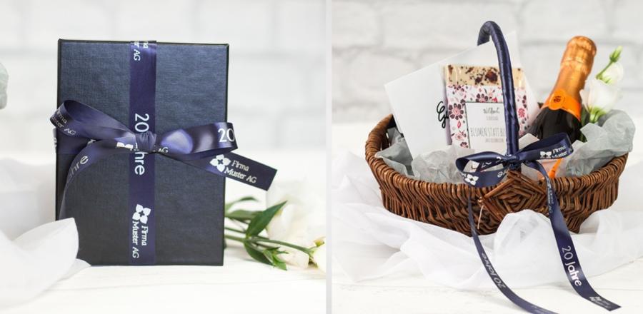 Cinta de tela personalizable para regalos